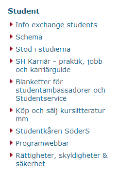 student-intranät